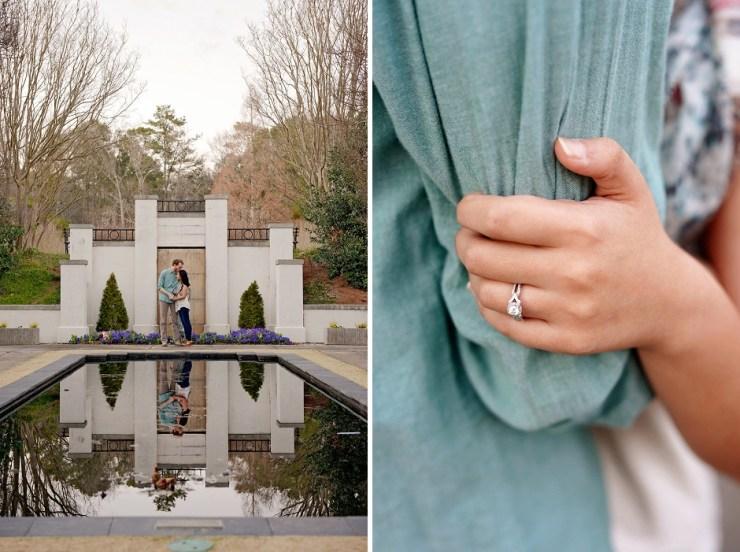 27 English Garden romantic engagement pictures Birmingham AL