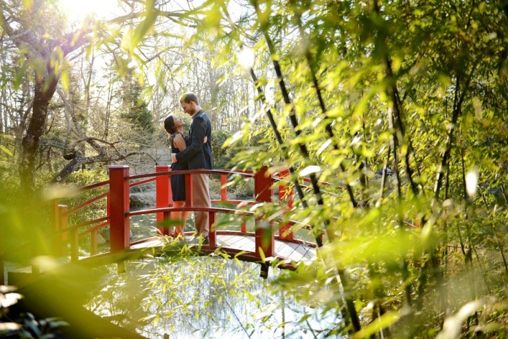 3 Birmingham Botanical Garden wedding photographer