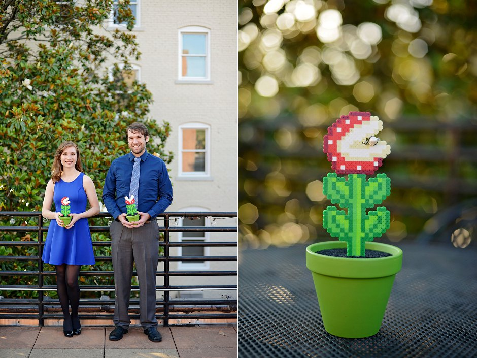 14 nerdy nintendo engagement pictures