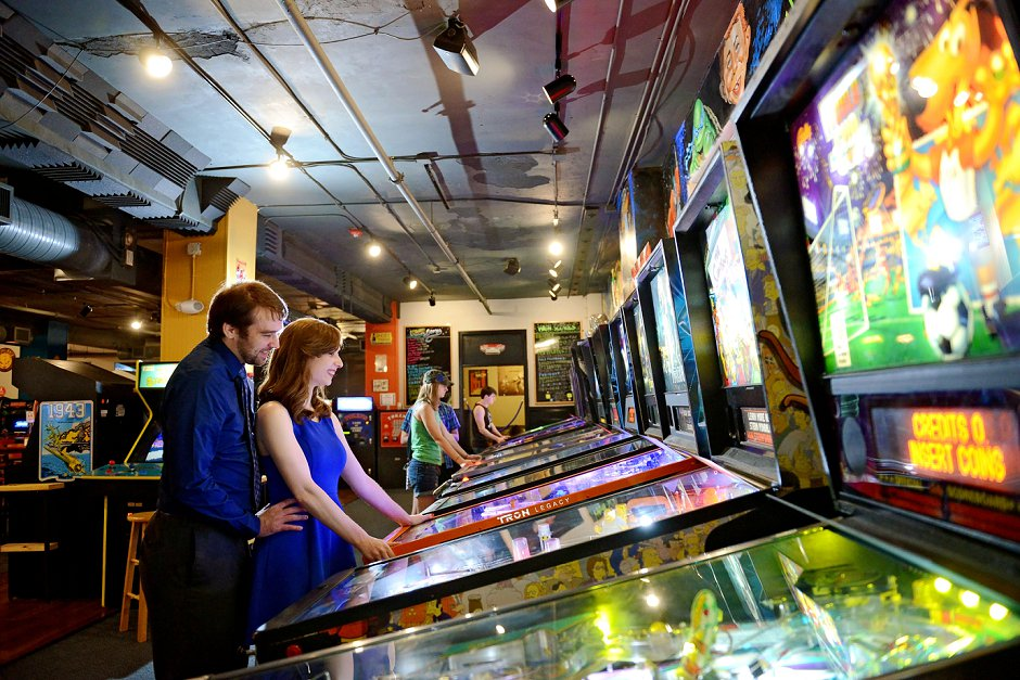 4 pinball arcade engagement pictures