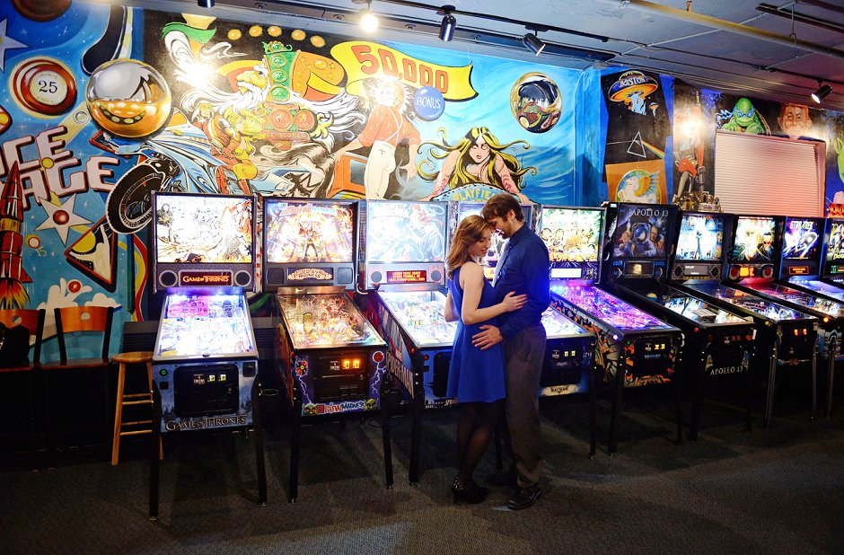 8 nerdy arcade engagement pictures