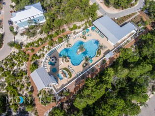 Blue Mountain Beach Aerial Photography and Video in South Walton, Florida