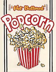 Popcorn box copy