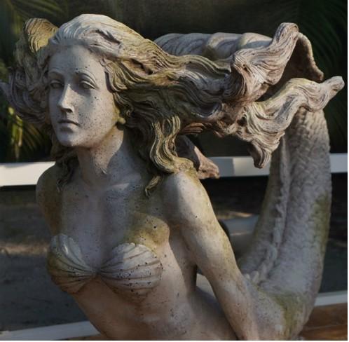 Mermaid figurehead by Jan Reichard