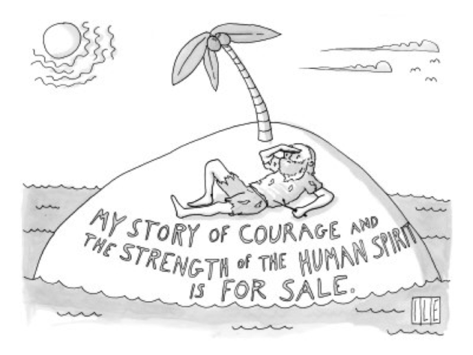 New Yorker magazine cartoon, by Isaac Littlejohn Eddy