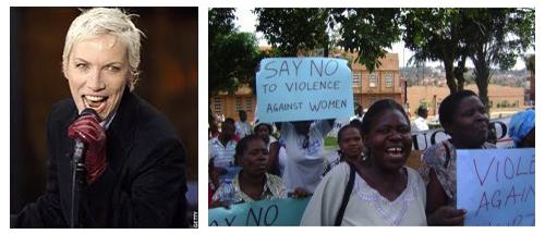 Annie Lennox & African Women