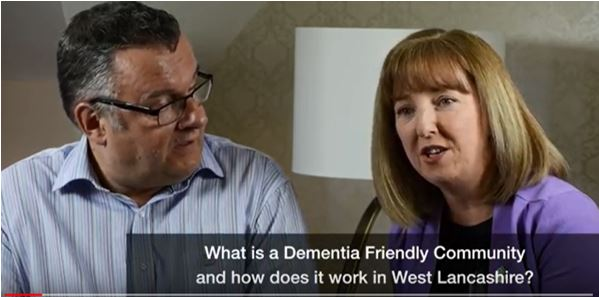 Talking about West Lancashire Dementia Friendly Community