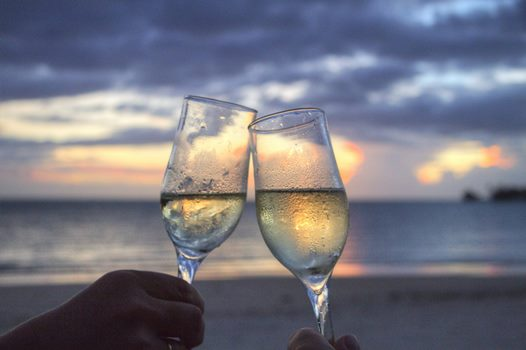 beach-champagne-cheerful-2145