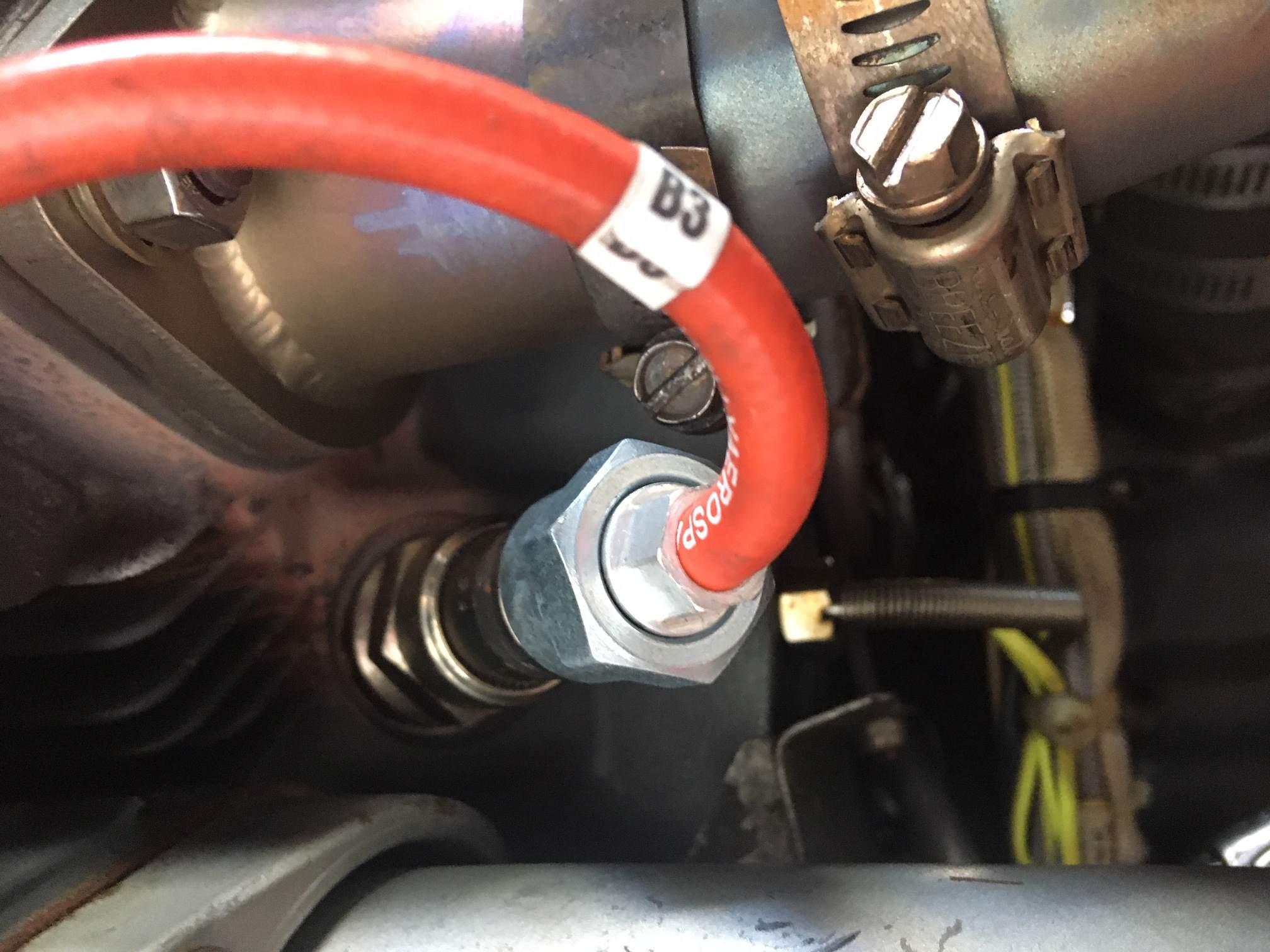 exhaust leaks on new powerflow install