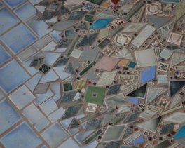 photo of Floor Mosaic Texture Detail