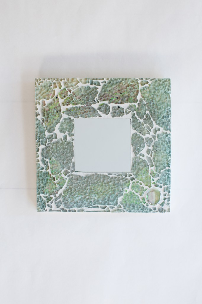 turquoise mosaic mirror 2