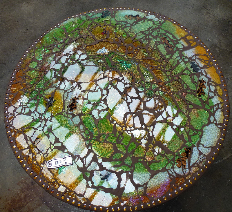 Moonfish Artworks Mosaic Table 3