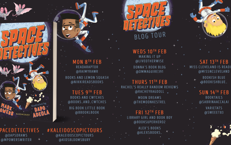 Moon Reds: Space Detectives Blog Tour