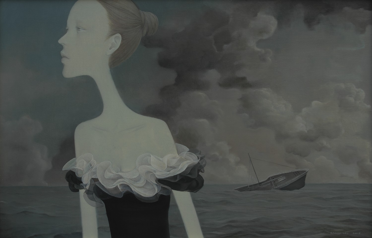 The Gentle Sea (2011) 85x55CM