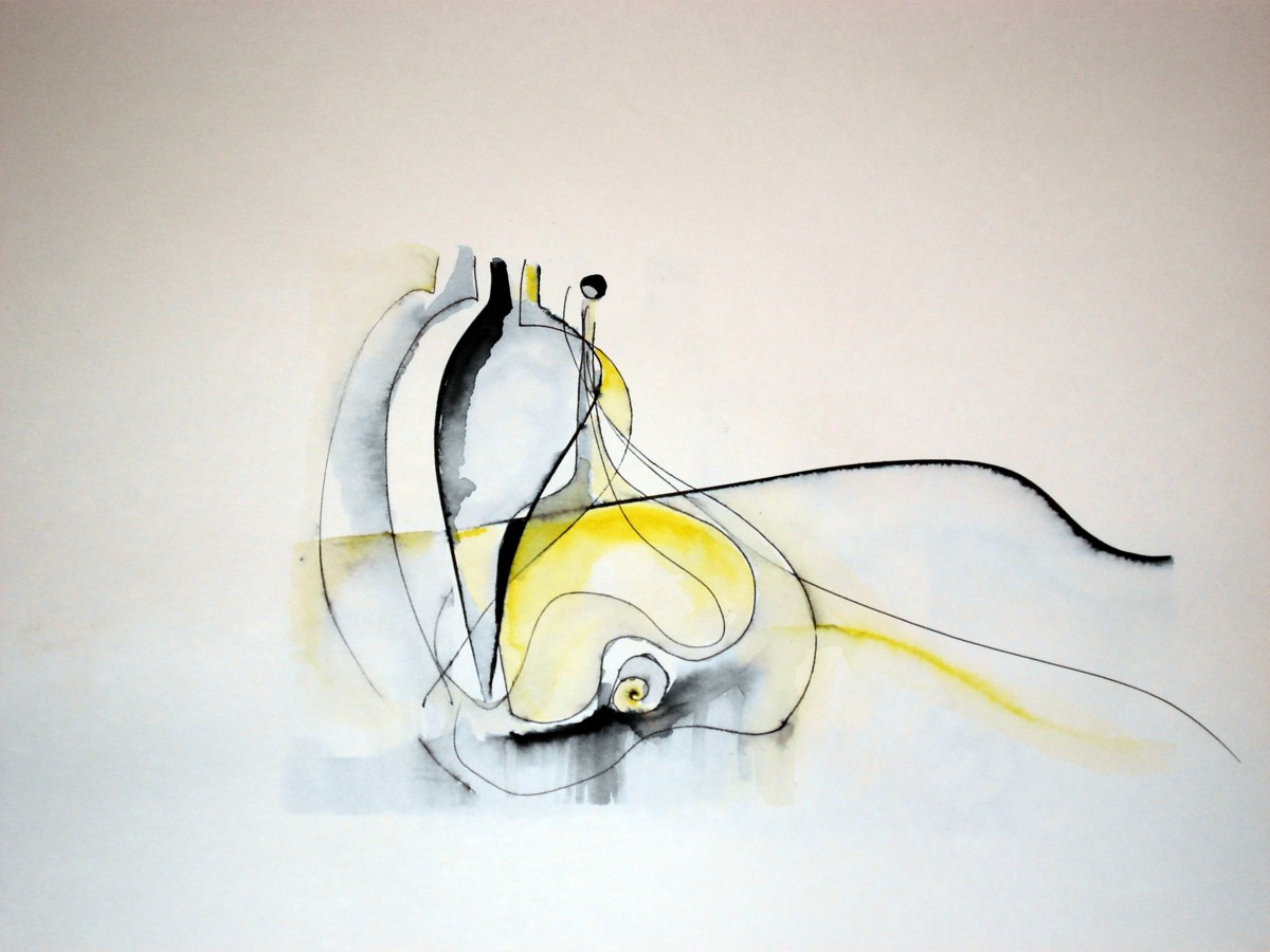 5 Drawing an Exercise 1(2006) 30 x 42cm - Copy