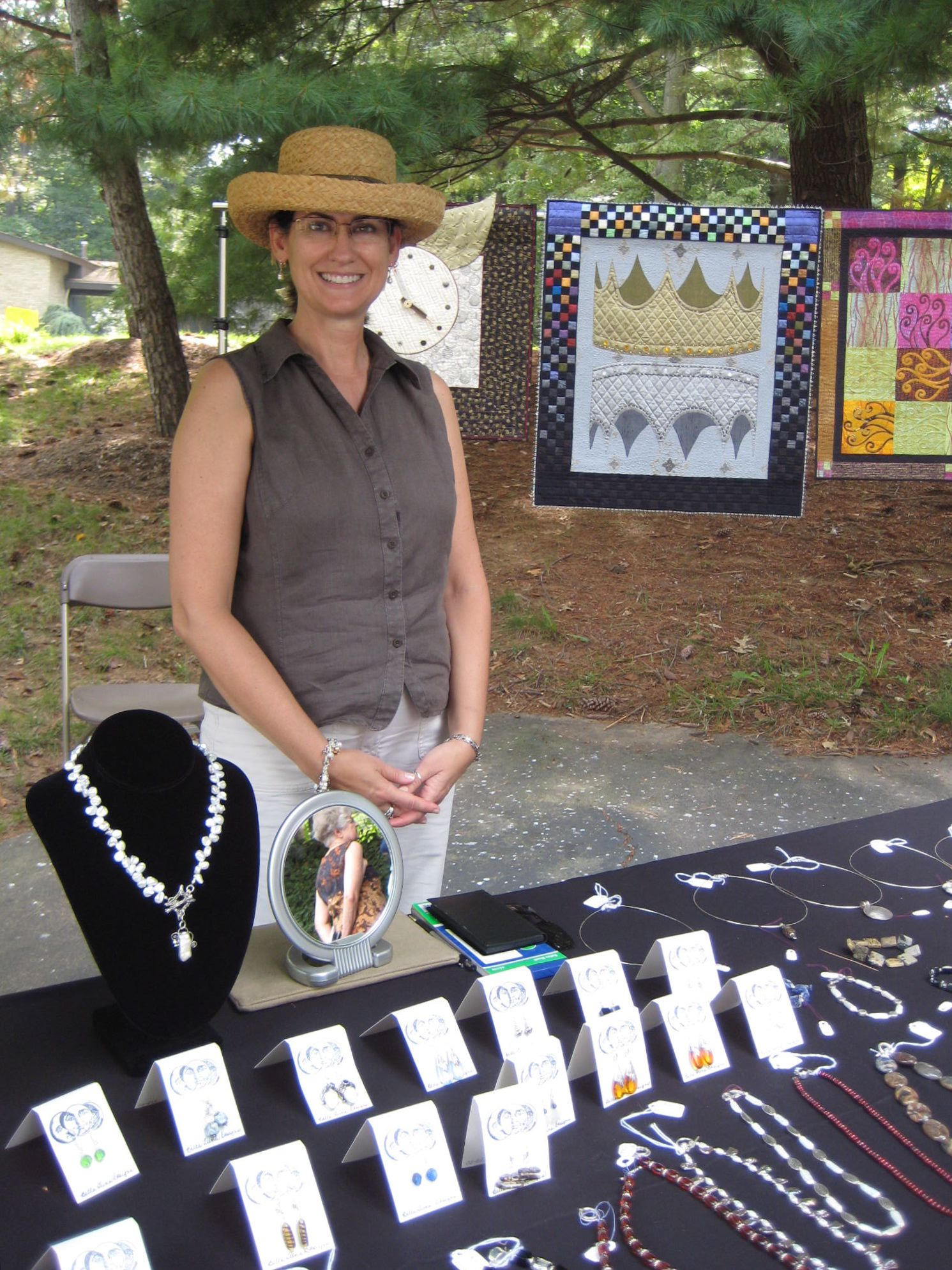 Me at Art in the Park 2008