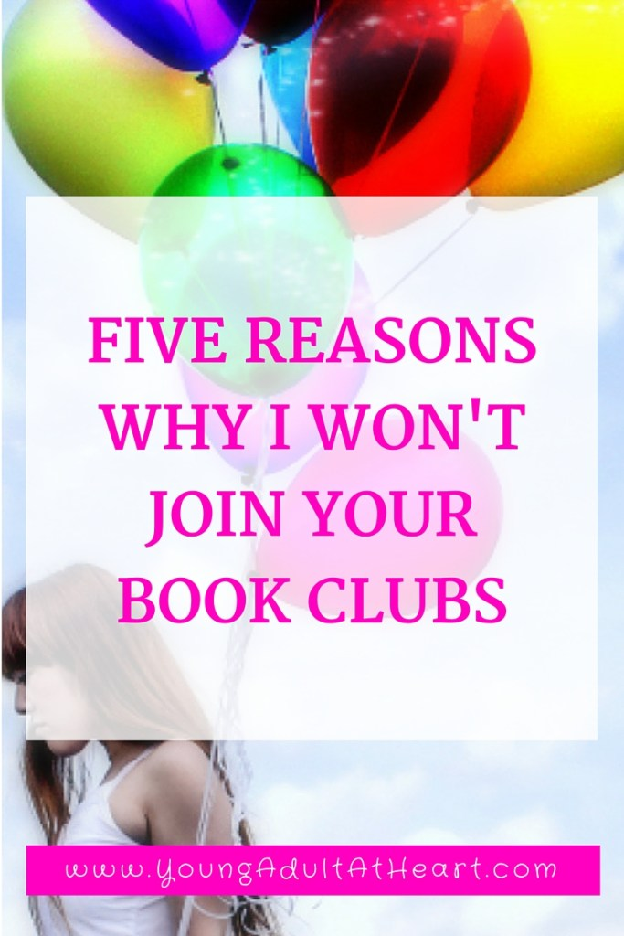 5 reasons no book club