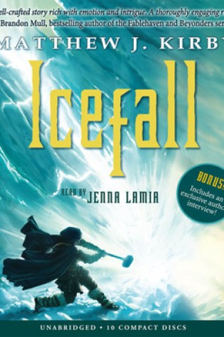 Icefall by Matthew J Kirby