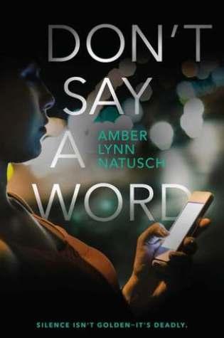Don't Say a Word (Hometown Antihero #2)  by Amber Lynn Natusch