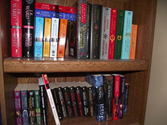 Pam's books!