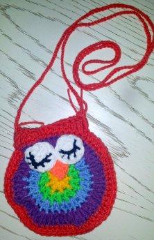Owl purse bag for 7yr old Emma
