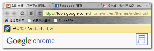 Google Chrome Theme