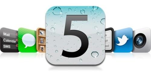 iOS5更新