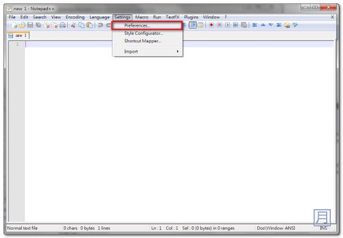 notepad++ 免安裝