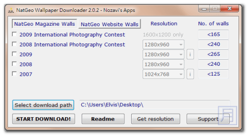 NatGeo Wallpaper Downloader