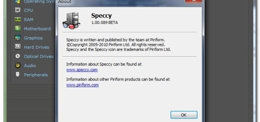 硬體檢測軟體 speccy free download