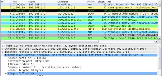 網路流量監控軟體 Wireshark 免安裝