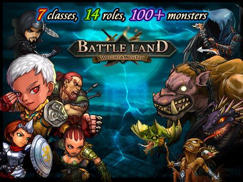 BattleLand:Warrior vs Monster HD