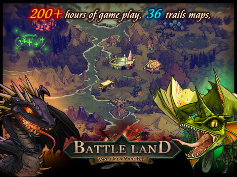 BattleLand:Warrior vs Monster HD