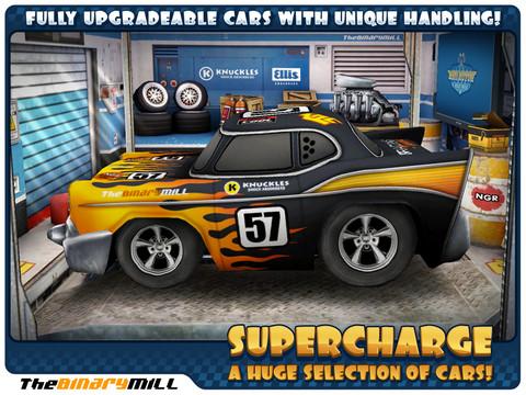 Mini Motor Racing HD - 超高質感的 iPad 賽車遊戲