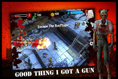 [限時免費下載]Zombie HQ 超刺激的僵屍射擊遊戲