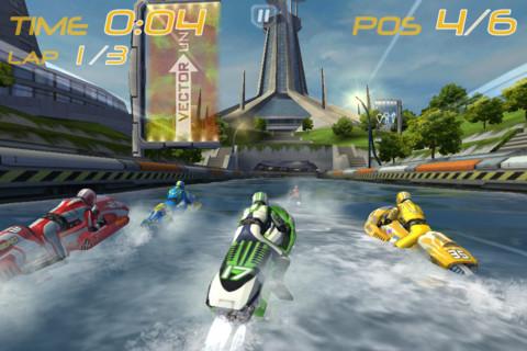 [限時免費下載]Riptide GP 畫面超優的水上摩托車遊戲