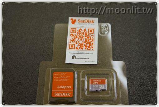[開箱]SanDisk Mobile Ultra microSDHC 32GB Class10 記憶卡