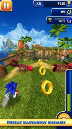音速小子手機遊戲下載 Sonic Dash