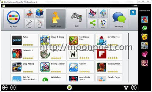 android模擬器 bluestack 用電腦玩android遊戲app