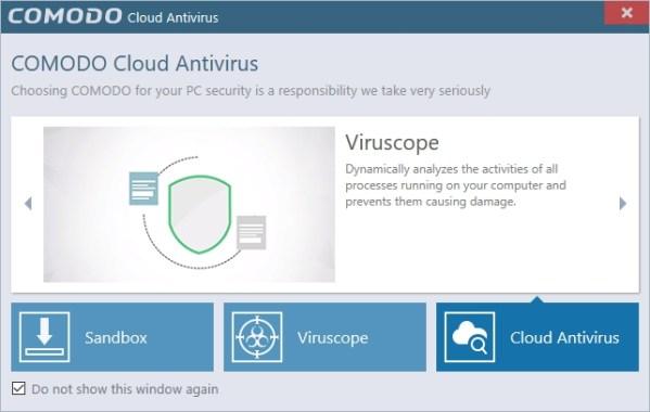 Comodo防毒軟體 雲端版 - Comodo Cloud Antivirus