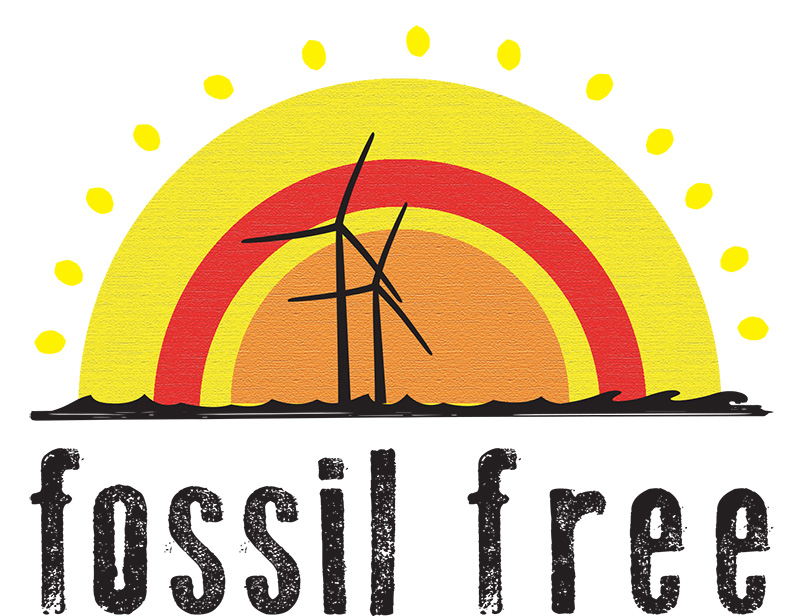fossil free logo