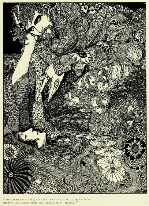 Illustration to the short story: Morella, by Harry Clarke