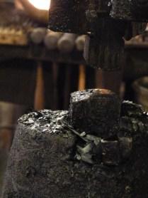 Part of a power hammer