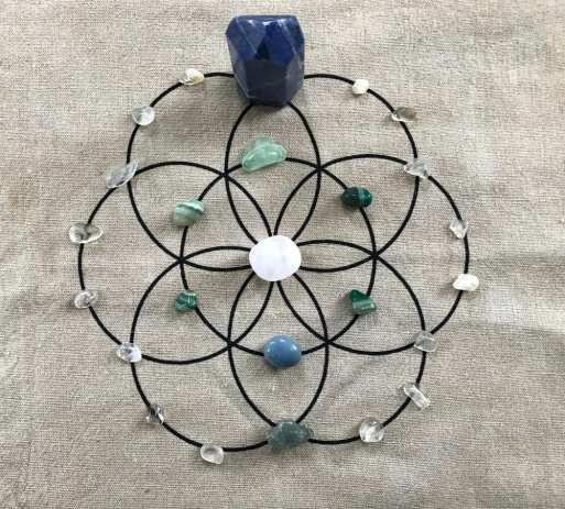 crystal grid for winter solstice