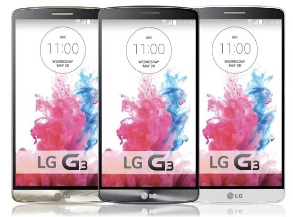 LG G3 規格一覽 2K螢幕與雷射對焦功能全新搭載