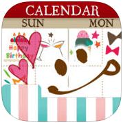 可愛月曆下載 - 女孩們的電子手帳本