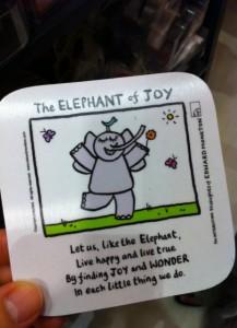 Zen Elephant of Joy