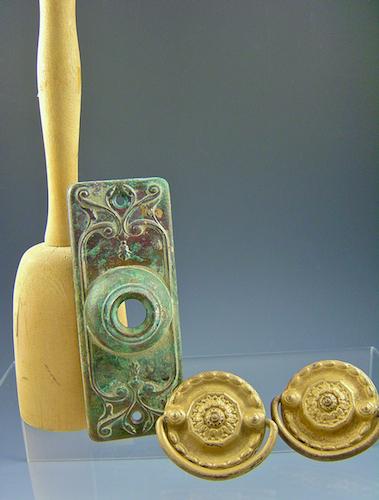 Masher, doorbell cover, drawer pulls