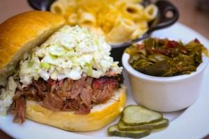BBQ Sandwich & One Fixin'