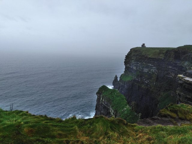 Cliffs of Moher moonshine in a teacup